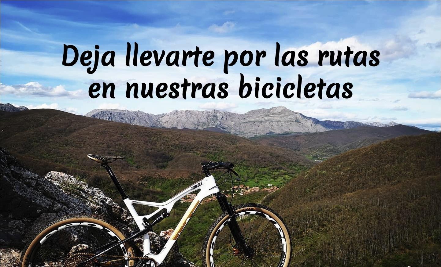 Bicicleta en paisaje